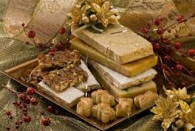 La mesa dulce de Navidad