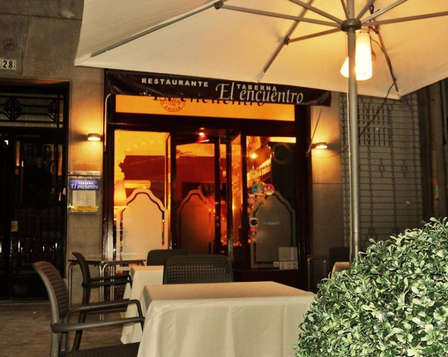 Restaurante El Encuentro, restaurante con terraza
