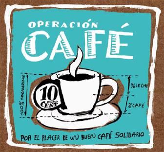 Cafés cargados de solidaridad